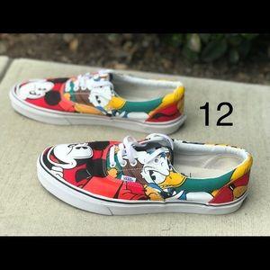 Men Disney Mickey & Friends VANS 12